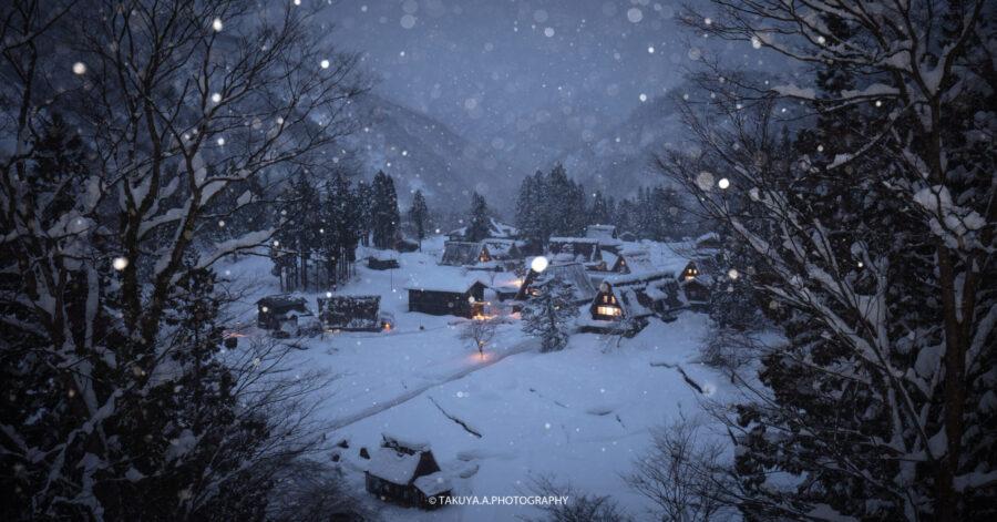 富山県の絶景 相倉合掌造り集落