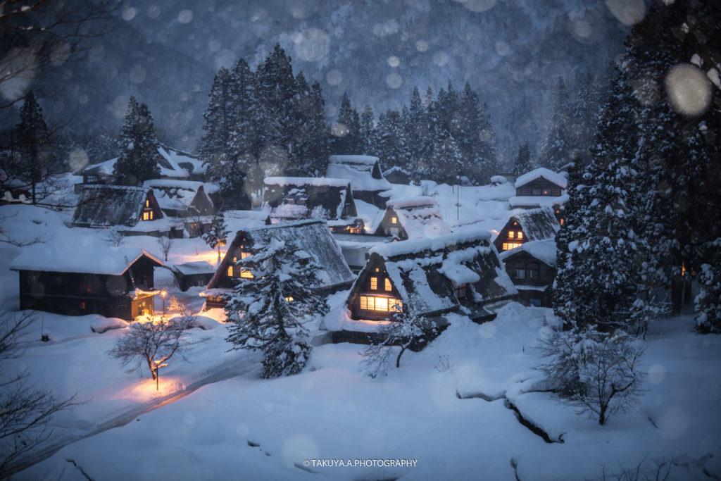 富山県の絶景 相倉合掌造り集落 撮影スポット1