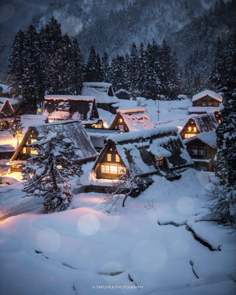 富山県の絶景 相倉合掌造り集落 撮影スポット2