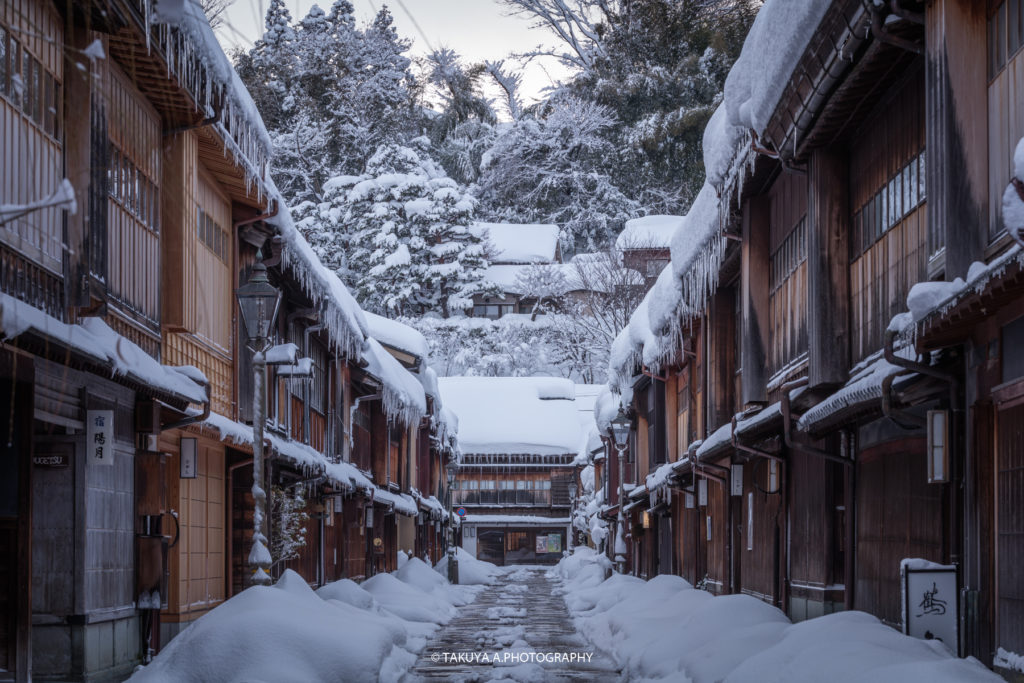 石川県の絶景 ひがし茶屋街