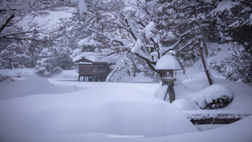 石川県の絶景 兼六園の雪景色撮影スポット1
