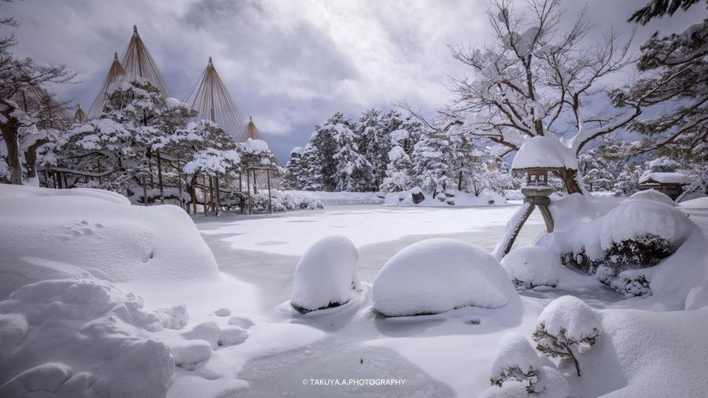 石川県の絶景 兼六園の雪景色撮影スポット2