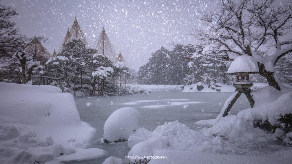 石川県の絶景 兼六園の雪景色撮影スポット3