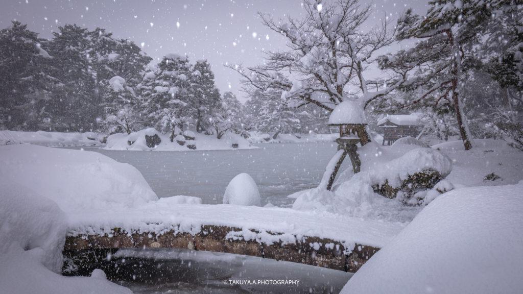 石川県の絶景 兼六園の雪景色撮影スポット4