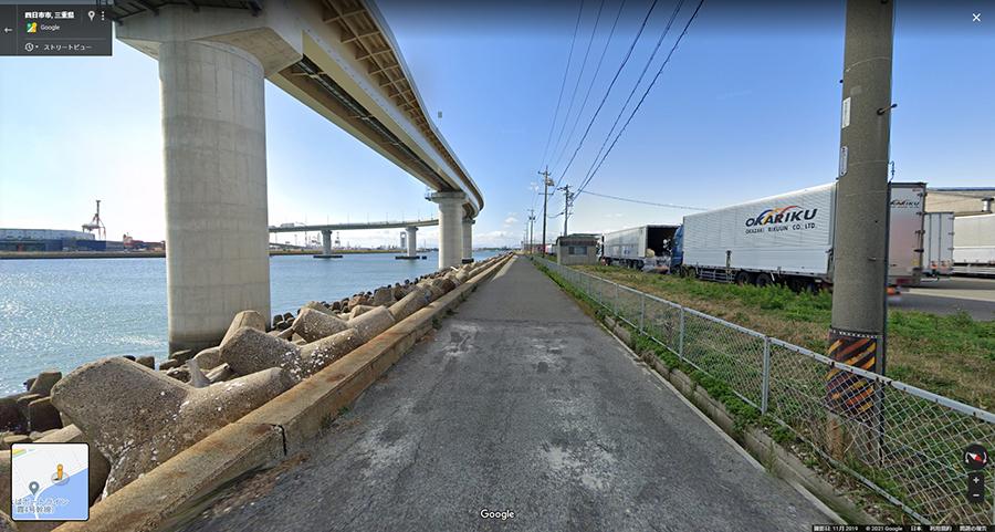 三重県の絶景 四日市工場夜景 いなばポートライン橋脚下 撮影スポット