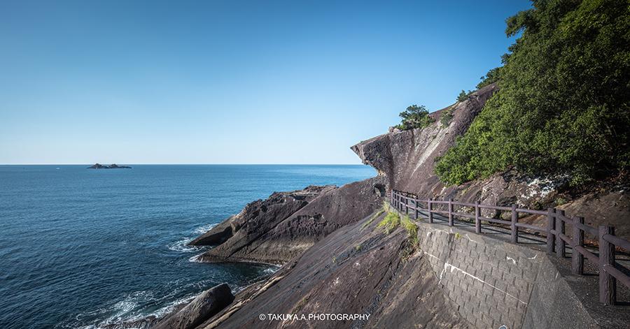 三重県の絶景 鬼ヶ城